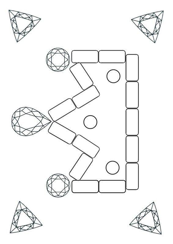 Coloriage gommettes ou playmais - Modele dessin gratuit a imprimer ...
