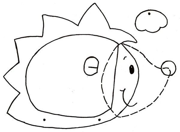 Gabarit - Lanterne hérisson