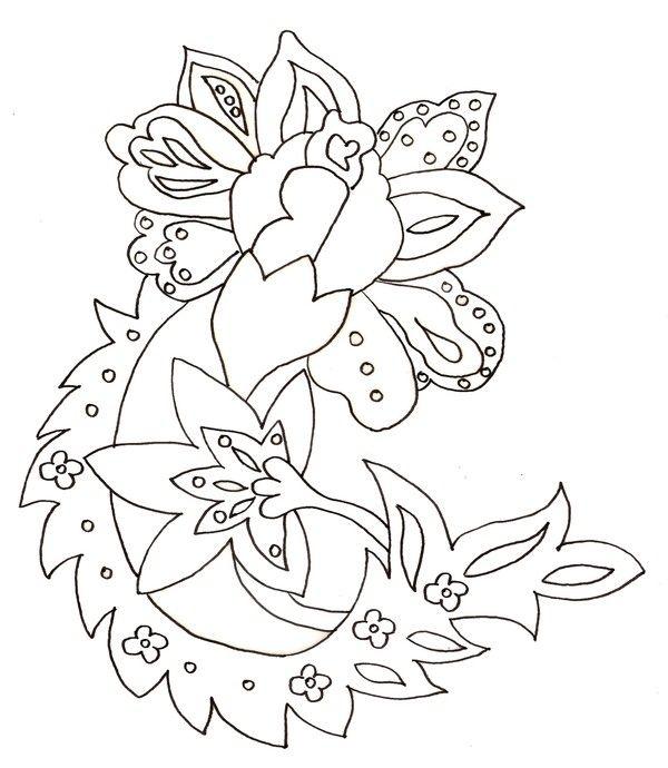 Coloriage printemps - Coloriage fleur gs ...