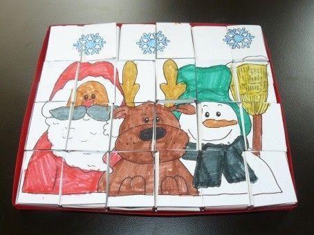 Calendrier de l 39 avent puzzle puzzle calendrier de l - Calendrier de l avent a colorier ...