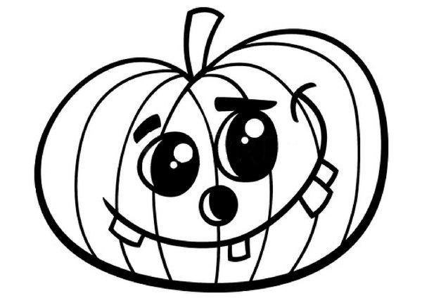 Halloween les citrouilles - Citrouille halloween dessin ...
