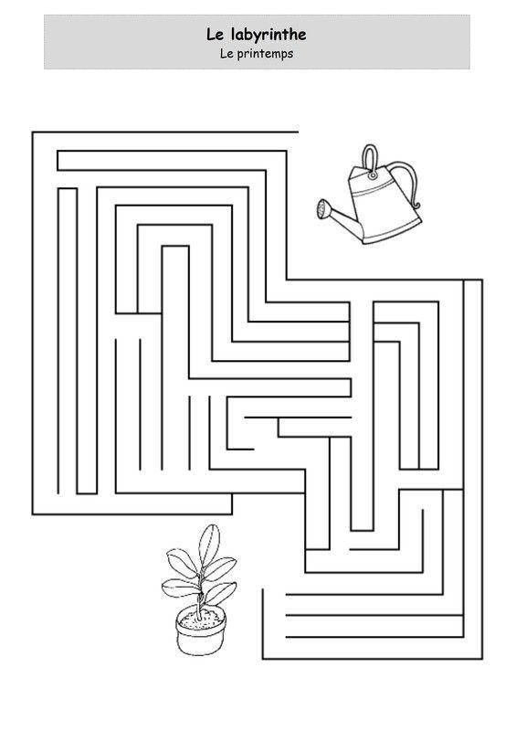 Un peu comme a ecole labyrinthe page 2 - Le printemps gs ...