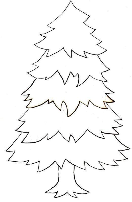 Noel les sapins page 2 - Bricolage de noel a imprimer ...