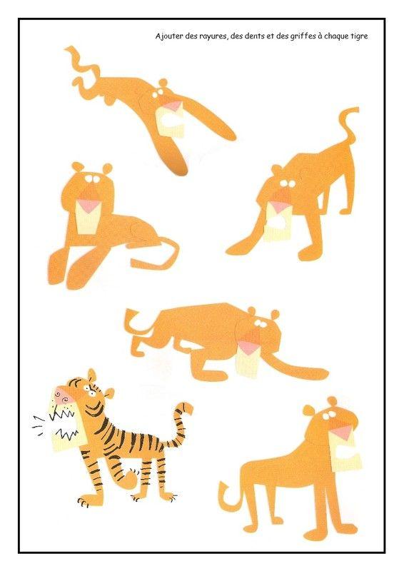 Les tigres à compléter