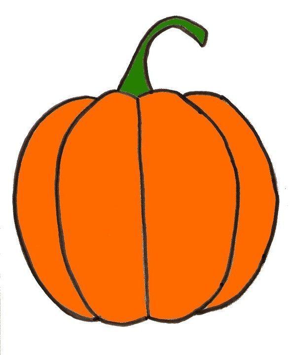 Halloween les citrouilles page 2 - Citrouille halloween dessin couleur ...