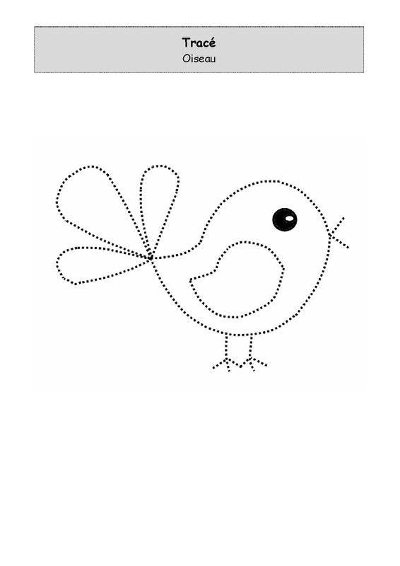Un peu comme a ecole graphisme - Dessiner un oiseau en maternelle ...