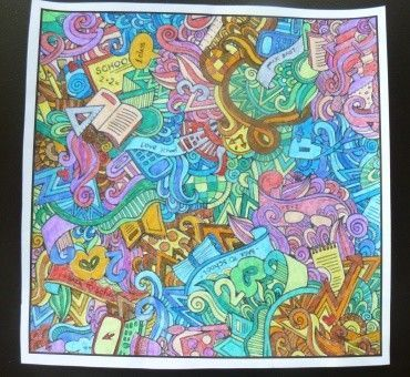 Coloriage Theme Ecole.Coloriage Theme Ecole Pour Les Assmat Ou Les Grands