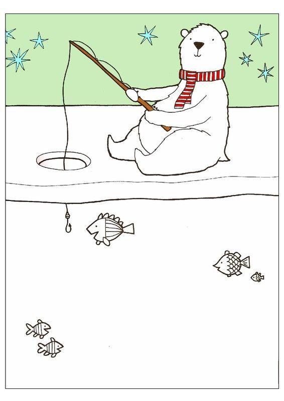 La pêche comme jeter lélastique