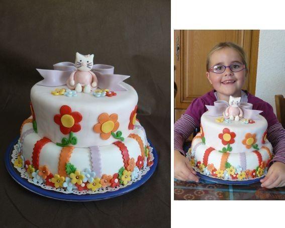 Gateau de fete fille 9 ans
