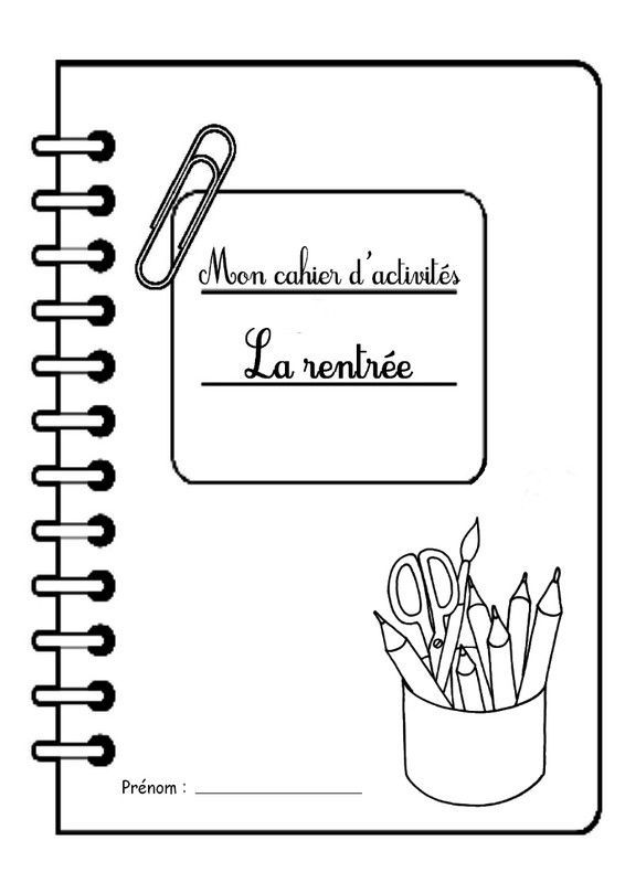 cahier exercice maternelle