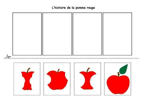 l 39 histoire de la pomme rouge. Black Bedroom Furniture Sets. Home Design Ideas
