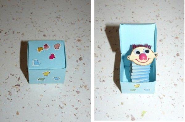 boite clown sur ressort fabriquer boite surprise avec ressort. Black Bedroom Furniture Sets. Home Design Ideas