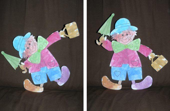 bricolage enfants Clown-articule-Sullyvan