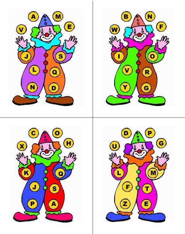 Favori de loto de l'Alphabet - Les cartes OZ82