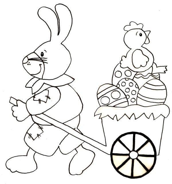 Coloriage paques - Coloriage a imprimer lapin ...