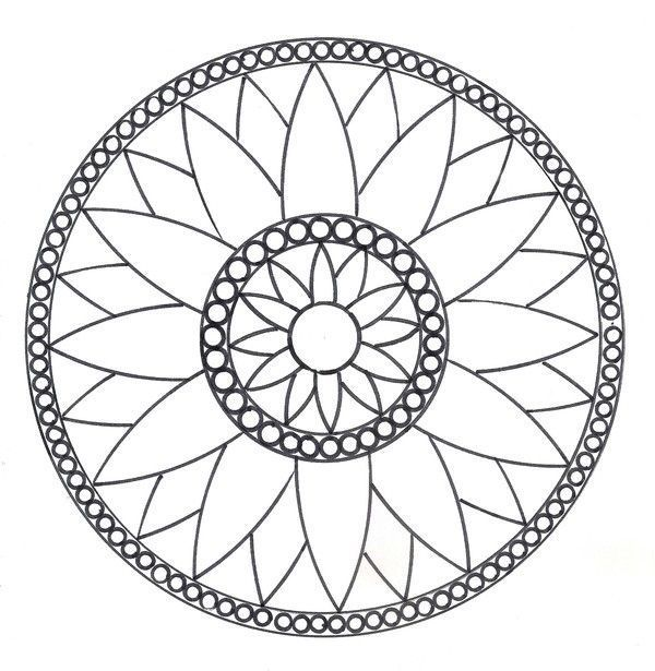 coloriage mandalas. Black Bedroom Furniture Sets. Home Design Ideas