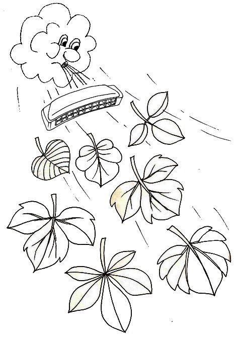 L 39 automne joue de l 39 armonica - L automne dessin ...