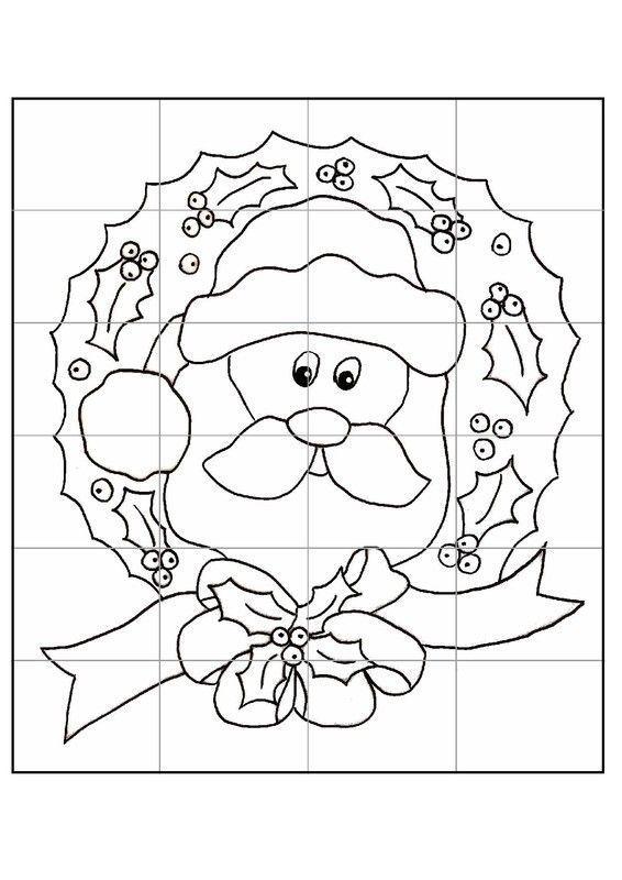 Noel calendriers de avent page 7 for Puzzle a colorier