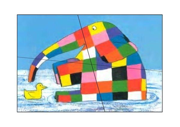 Elmer elephant bariole - Coloriage elmer a imprimer ...