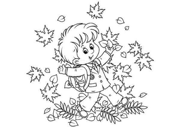 Coloriage automne - Coloriage feuilles d automne ...