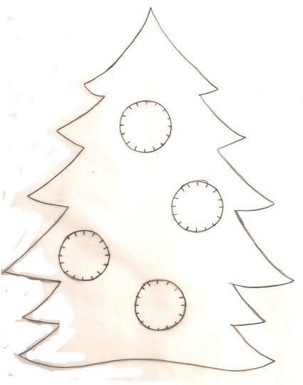 Noel les sapins page 2 - Gabarit sapin de noel en carton ...