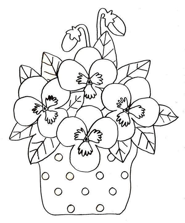 Coloriage printemps - Coloriage fleur imprimer ...