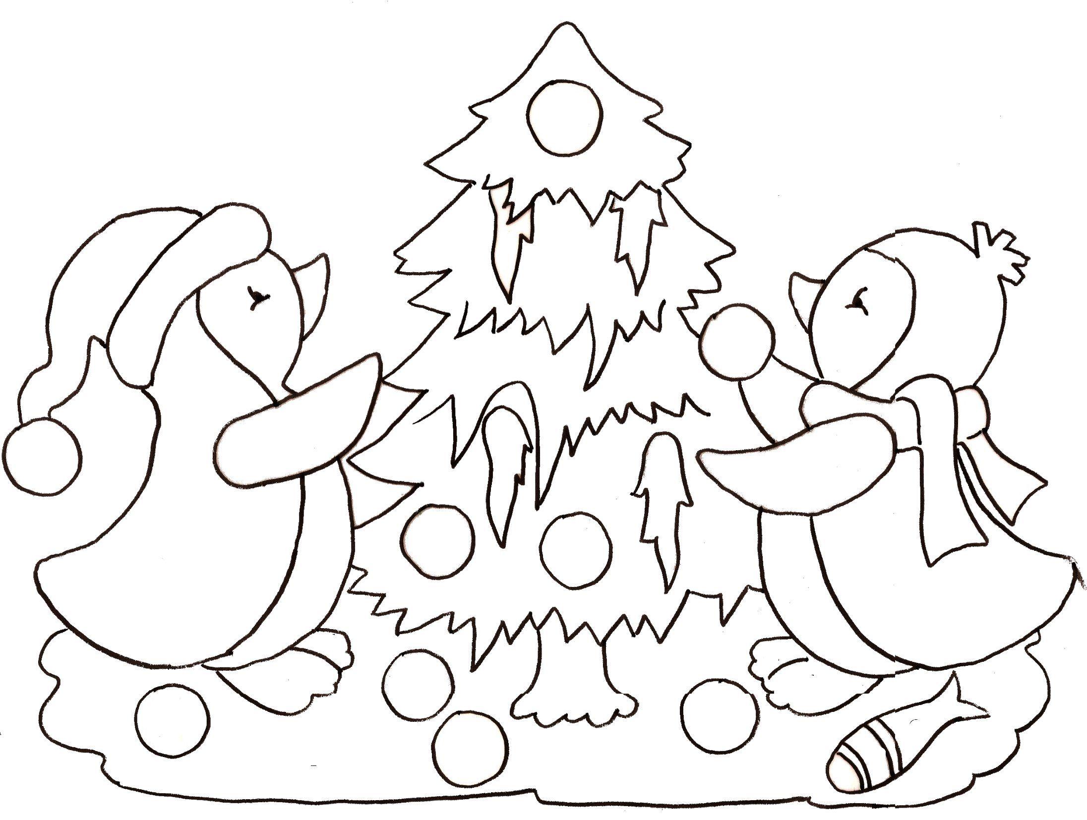 Coloriage noel - Coloriage pingouin ...