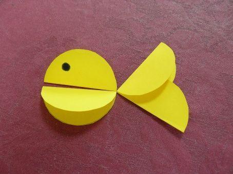 Petit poisson rond mod le n 1 for Petit miroir rond a coller