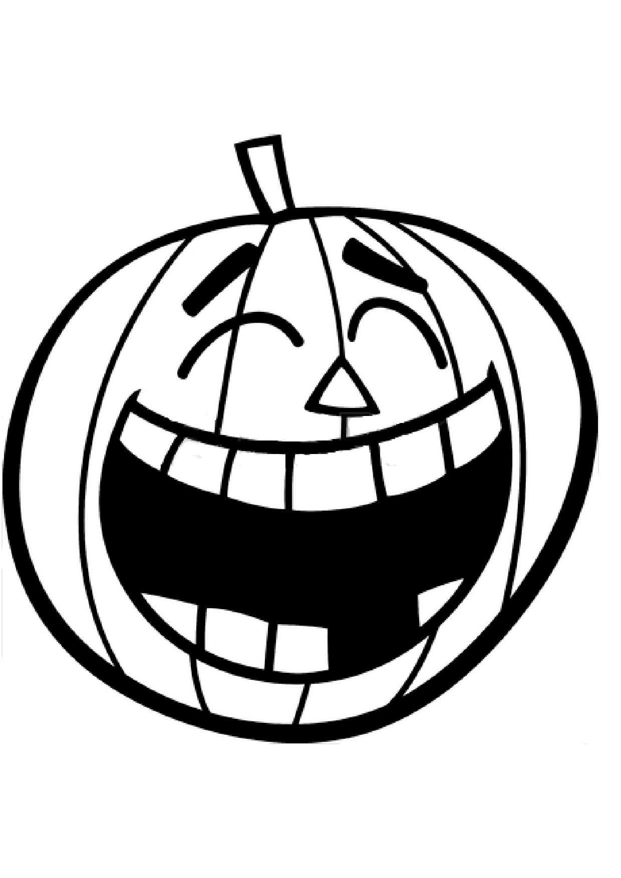 Halloween les citrouilles for Modele de citrouille a imprimer