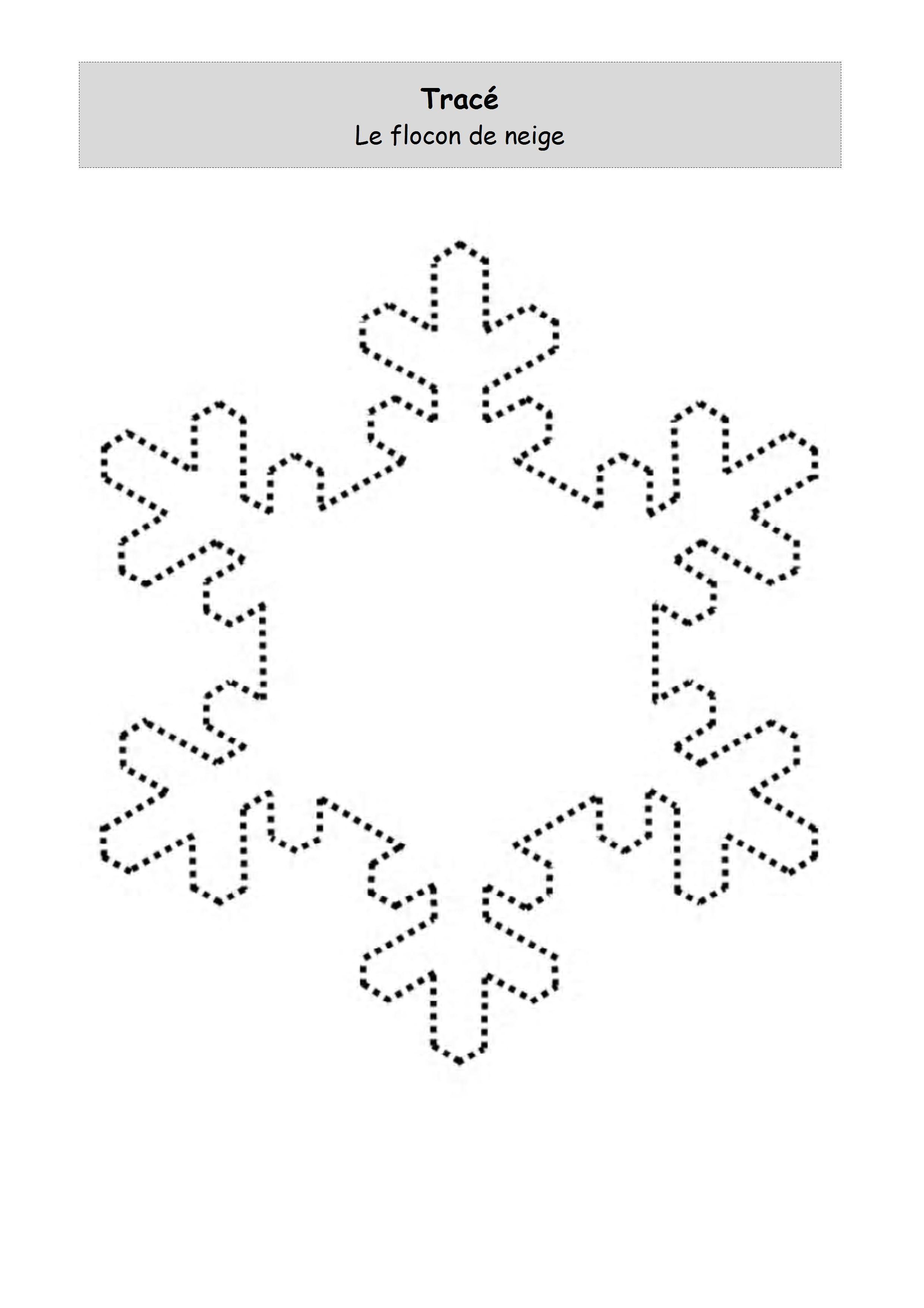 Dessin imprimer un flocon de neige pictures to pin on pinterest - Flocon de neige en papier a imprimer ...