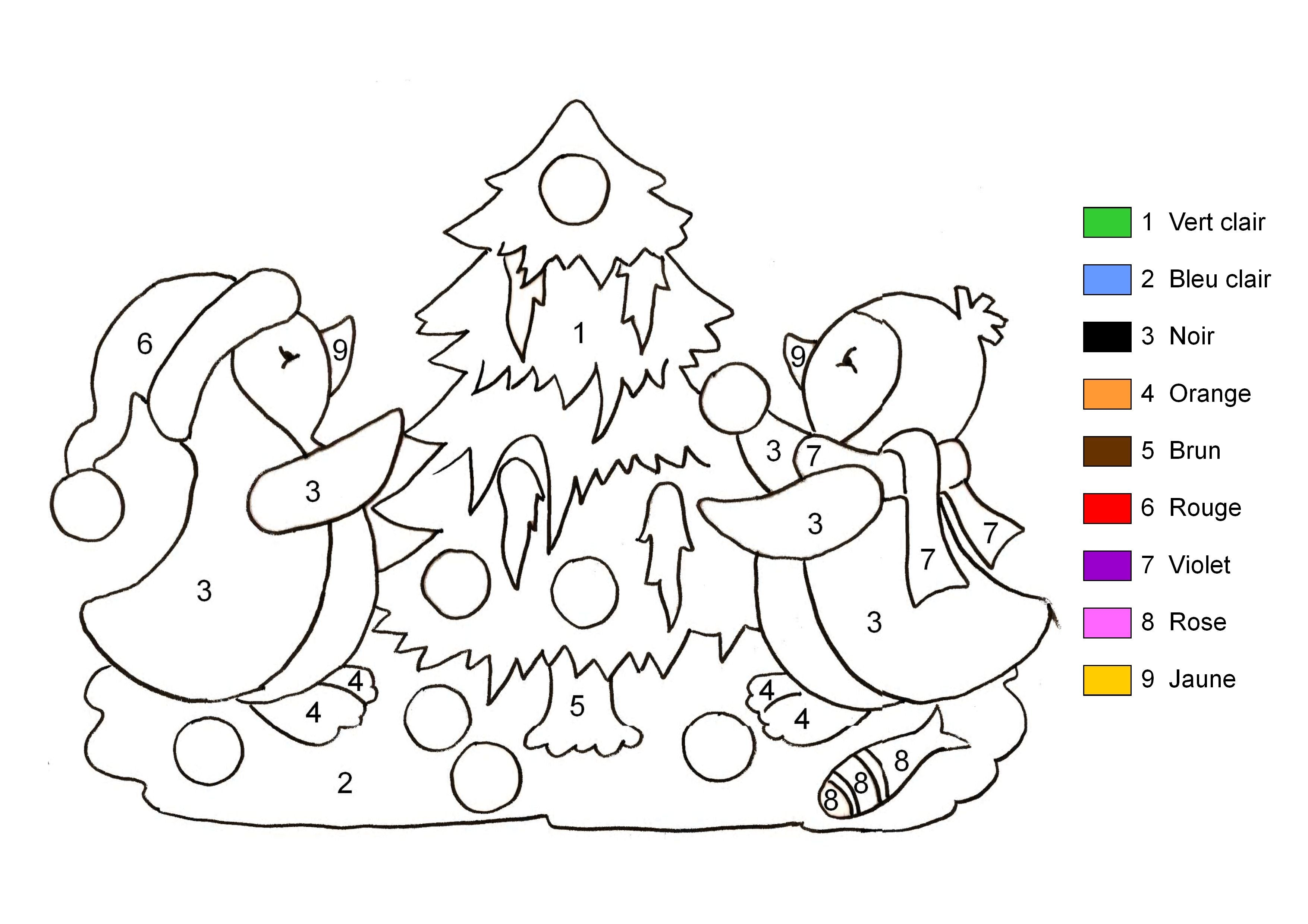 Impressionnant Image Coloriage Noel