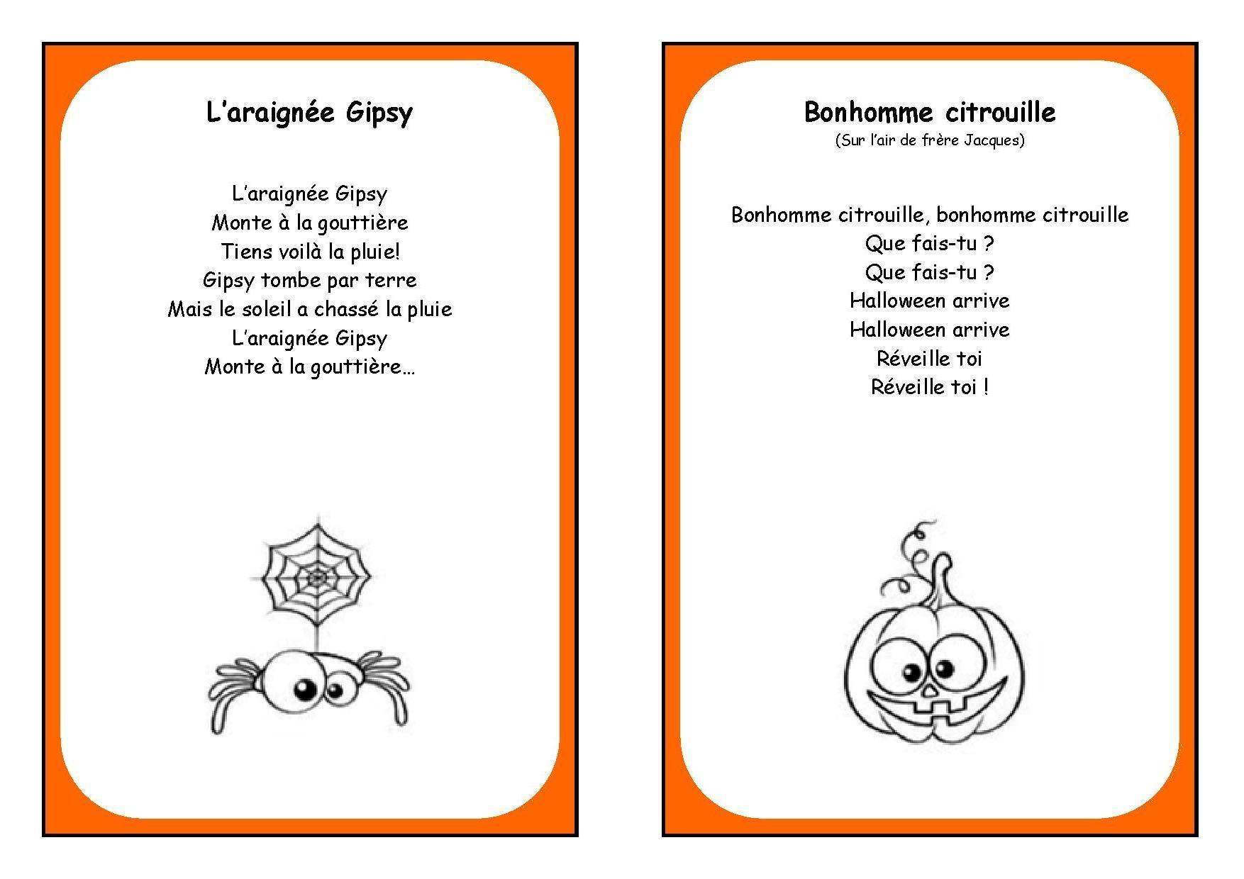Page 2 Livre De Chants D Halloween
