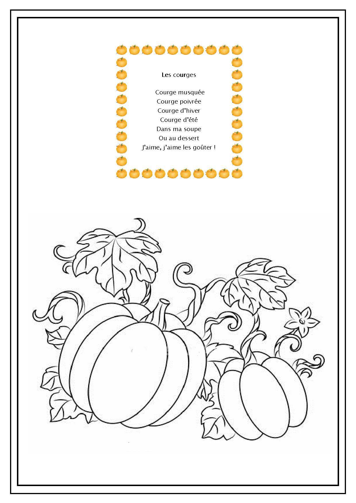 Imagier imprimer les lgumes thme fruits et lgumes - Fruits automne maternelle ...
